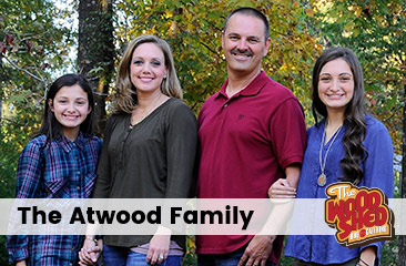 Wood Shed BBQ In Whitehall: Atwood family