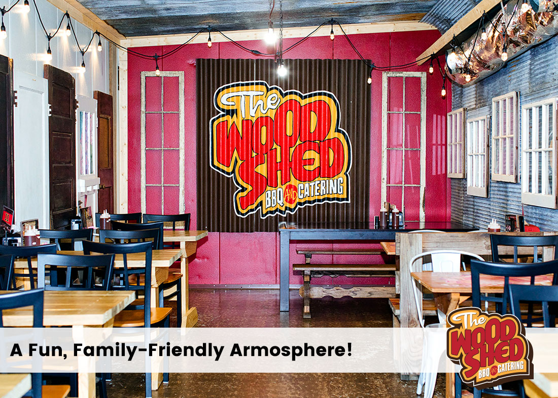Wood Shed BBQ In Whitehall: Family Friendly Dining