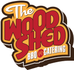 Wood Shed BBQ & Catering Logo